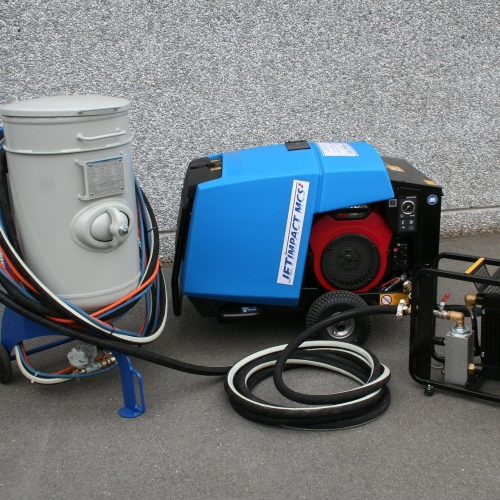 Mobile & Compact Stripping System for air-gumming (MCS²)